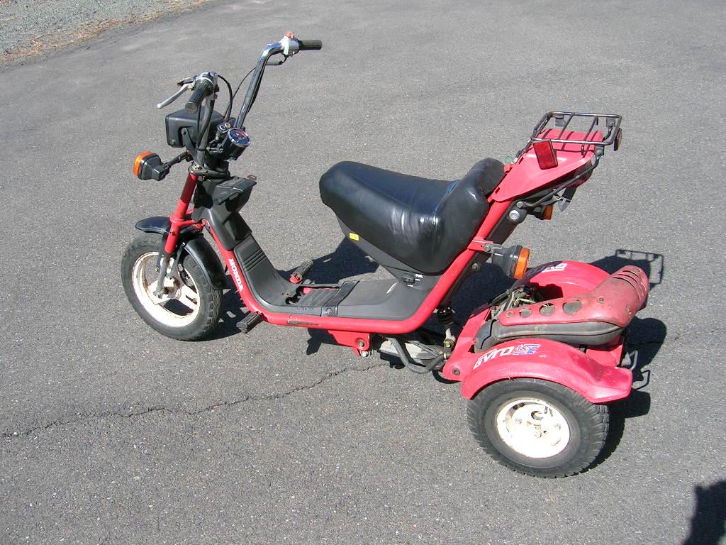 for sale, 1986 honda gyro - sold!